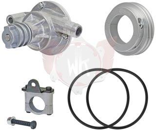 Kit Wasserpumpe Alu komplett 30/50 mm
