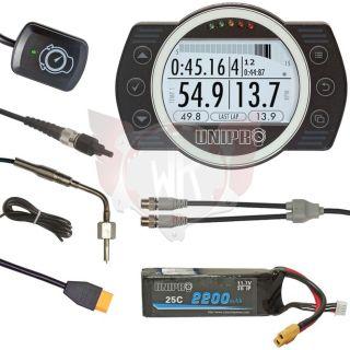 UNIGO 7006 KIT 3 DISPLAY SCHWARZ MIT GPS UND
