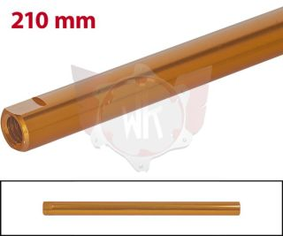 SPURSTANGE RUND 210mm  ORANGE ELOXIERT