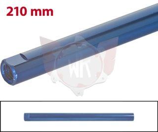 SPURSTANGE RUND 210mm  BLAU ELOXIERT