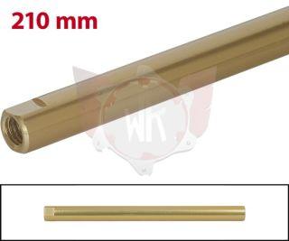 SPURSTANGE RUND 210mm  GOLD ELOXIERT