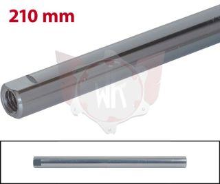 SPURSTANGE RUND 210mm  TITAN ELOXIERT