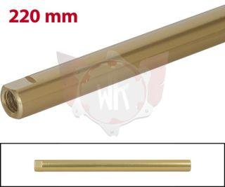 SPURSTANGE RUND 220mm  GOLD ELOXIERT