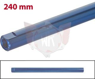 SPURSTANGE RUND 240mm  BLAU ELOXIERT