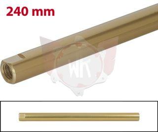 SPURSTANGE RUND 240mm  GOLD ELOXIERT