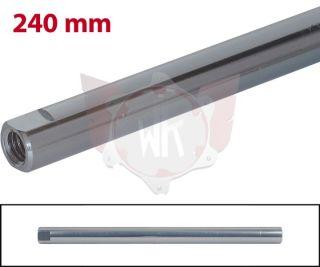 SPURSTANGE RUND 240mm  TITAN ELOXIERT