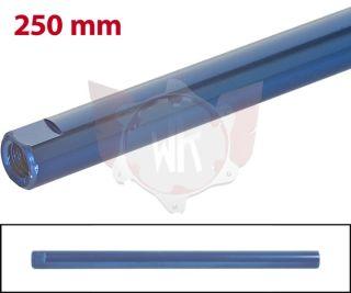 SPURSTANGE RUND 250mm  BLAU ELOXIERT