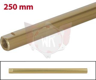 SPURSTANGE RUND 250mm  GOLD ELOXIERT