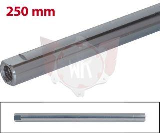 SPURSTANGE RUND 250mm  TITAN ELOXIERT