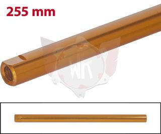 SPURSTANGE RUND 255mm  ORANGE ELOXIERT