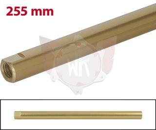 SPURSTANGE RUND 255mm  GOLD ELOXIERT