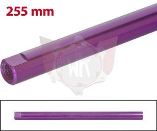 SPURSTANGE RUND 255mm  LILA ELOXIERT