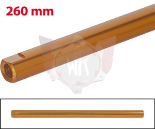 SPURSTANGE RUND 260mm  ORANGE ELOXIERT