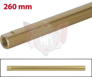 SPURSTANGE RUND 260mm  GOLD ELOXIERT