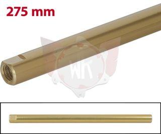 SPURSTANGE RUND 275mm  GOLD ELOXIERT