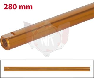 SPURSTANGE RUND 280mm  ORANGE ELOXIERT