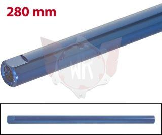 SPURSTANGE RUND 280mm  BLAU ELOXIERT
