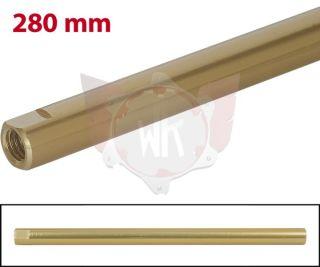 SPURSTANGE RUND 280mm  GOLD ELOXIERT