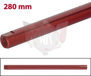 SPURSTANGE RUND 280mm  ROT ELOXIERT