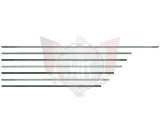 BREMSSTANGE STAHL M6x400