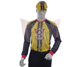 GELBES T-SHIRT WILDKART 1/1 ARM